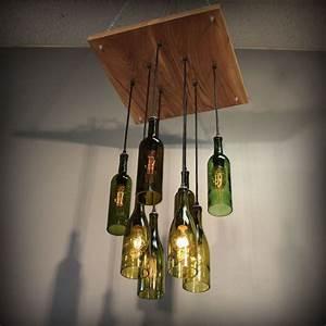 Nachttischlampe Selber Bauen : diy lampe aus flasche 39 trendige ideen zum selbermachen ~ Markanthonyermac.com Haus und Dekorationen