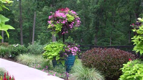 Spectacular Container Garden Youtube