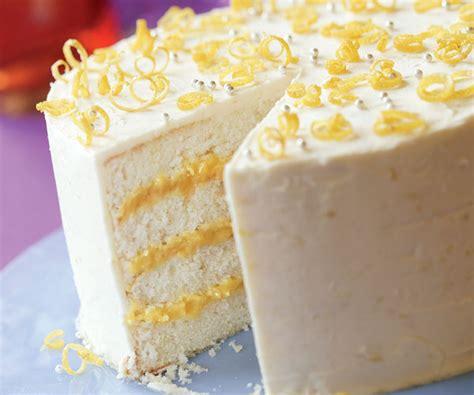 lemon curd layer cake recipe dishmaps