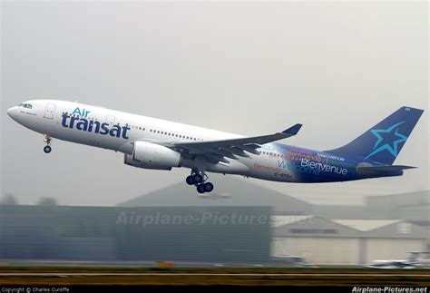 c gtsj air transat airbus a330 200 at manchester photo id 168496 airplane pictures net