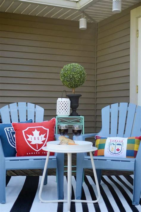 cool outdoor decor items celebrate canada s 150th in style