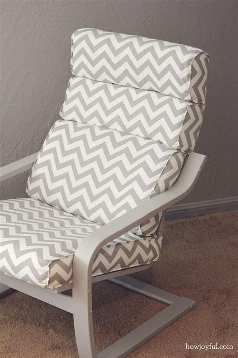 nursery ikea poang chair recover how joyful diy poang