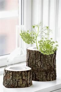 Holz Dekoration Modern : besonders reizvolle fensterbank deko ~ Markanthonyermac.com Haus und Dekorationen