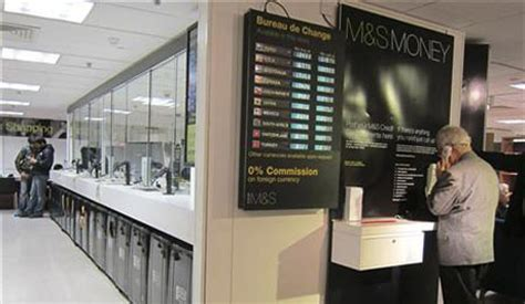 marks and spencer currency exchange rates compare money