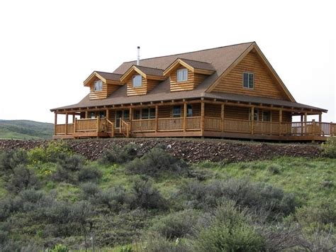 inspiring log home plans with wrap around porch nearby ranch style with wrap around porch homes