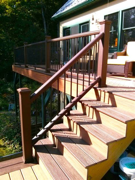how to build a deck stair railing tribune content agency