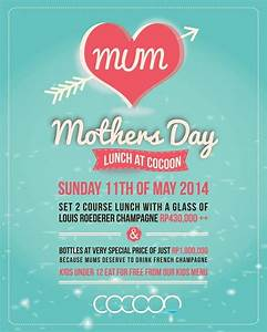 Sunday, May 11 - Celebrate Mothers Day with our special ...