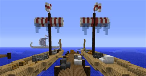 Minecraft Boat Building Guide by How To Build A Viking Ship In Minecraft Minecraft Guides