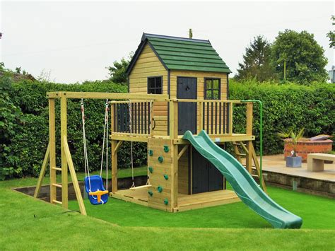 Garden Playhouses And Climbing Frames