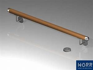 Handlauf In Wand : holz edelstahl handlauf wandhandlauf gel nder treppe v2a wand halter 1 5m ebay ~ Markanthonyermac.com Haus und Dekorationen