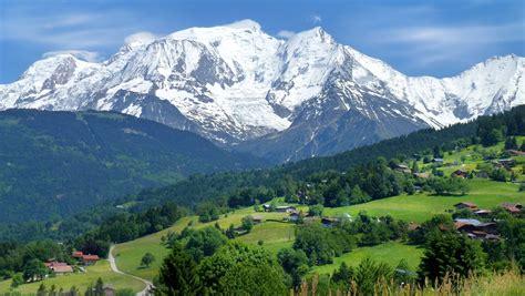 image massif du mont blanc
