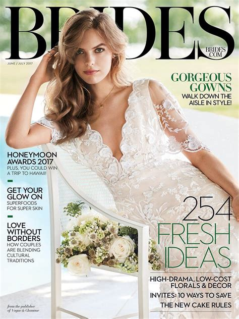 Brides Magazine Junejuly 2017 Edition  Texture. What Underwear Wedding Dress. Jewish Wedding Meaning Of Breaking The Glass. My Wedding Hair. Wedding Invitations Ireland. Wedding Car Hire In London. Wedding Dress Necklines Ideas. Monogrammed Wedding Invitations Ideas. How Do I Find A Couple's Wedding Website On The Knot