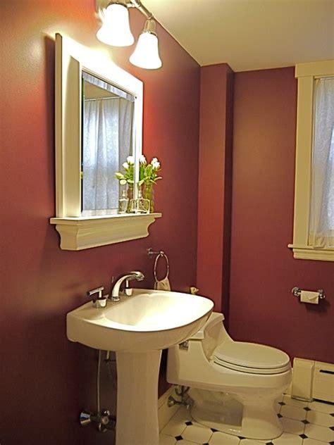 burgundy bath