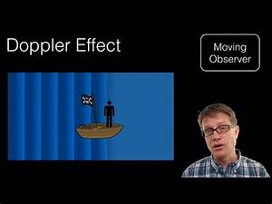 Scientiflix - Doppler Effect Paul Andersen explains how the...