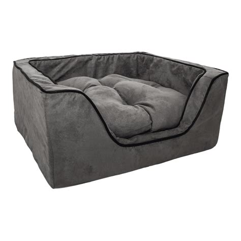 snoozer overstuffed sofa pet bed beauteous overstuffed