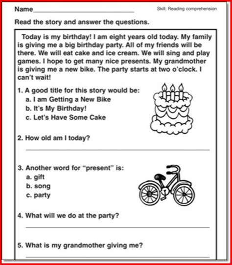 Reading Passages With Questions 2nd Grade  Second Story Window Teachers Pay Teacherssecond