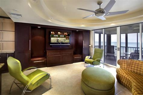 Murphy Beds Naples Fl by Naples Living Room Zoom Room Bed Closed Contemporary