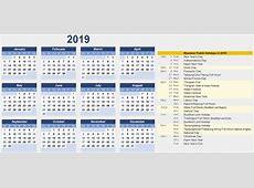 Free Editable Myanmar Calendar 2019 Template PDF, Excel