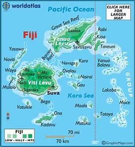 Map of Fiji - Fiji Map, Geography of Fiji Map Information ...