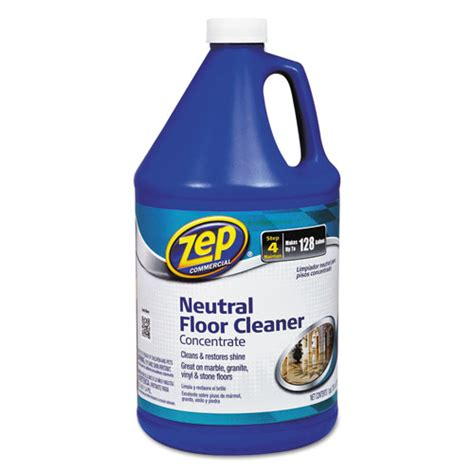 zep commercial multi surface floor cleaner pleasant scent