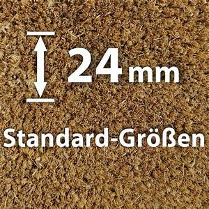 Standard Bilderrahmen Größen : natur 24 mm standard gr en kokosmatten von ~ Markanthonyermac.com Haus und Dekorationen