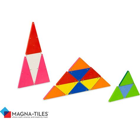 Magna Tiles Clear Vs Solid by Magna Tiles Solid Colors 100 Set Timbuk Toys
