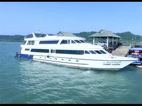 Angel Boat Cruises by Phang Nga Bay By Sea Angel Cruise Youtube