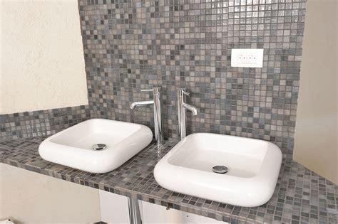 des vasques 224 poser dans la salle de bains bricolage avec robert