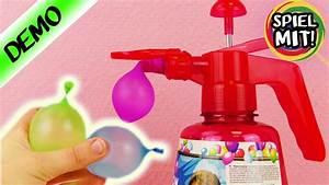 Ballon Mit Mehl Füllen : unterwegs wasserbomben bef llen ohne wasserhahn ultra schnelle ballon pumpe f r wasserschlacht ~ Markanthonyermac.com Haus und Dekorationen