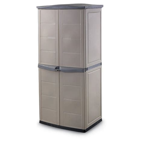 keter 174 vertical storage shed 120821 yard garden at