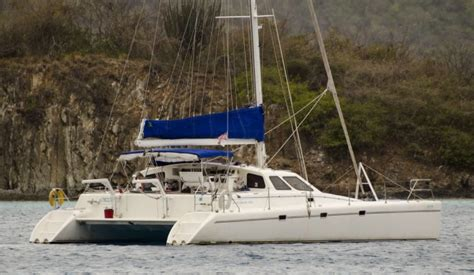 Catamaran 40ft Engine by Catamarans For Sale Orion Norseman 400 Voyage Yachts