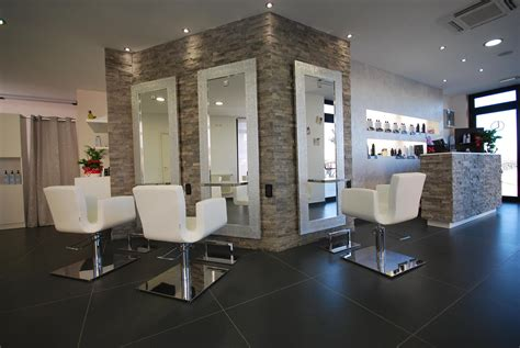 Modern furnitures, hair salon interior design hair salon