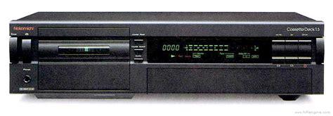 nakamichi cassette deck 1 5 manual three stereo
