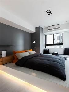 Schlafzimmer Design Grau : schlafzimmer modern gestalten 48 bilder ~ Markanthonyermac.com Haus und Dekorationen