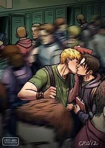 Kissing by Cris-Art on DeviantArt
