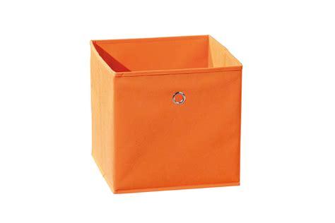 bo 238 te de rangement orange vente de boite en tissu