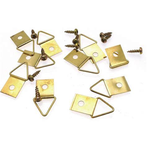 attaches triangulaire 1 trou 1 vis pour baguettes et cadres