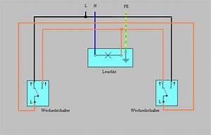 Lampe Mit Bewegungsmelder Und Schalter : licht mit einem schalter an und mit einem anderen aus wie schaffe ich das elektronik haus ~ Markanthonyermac.com Haus und Dekorationen