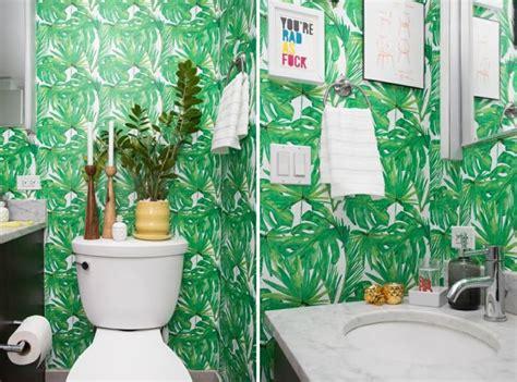 Papier Peint Pour Salle De Bains  Une Sélection Originale