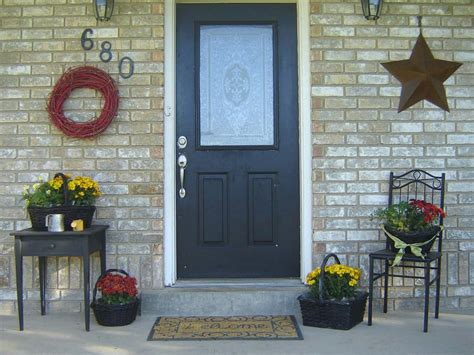 Small Front Porch Decorating Ideas  4 Home Ideas