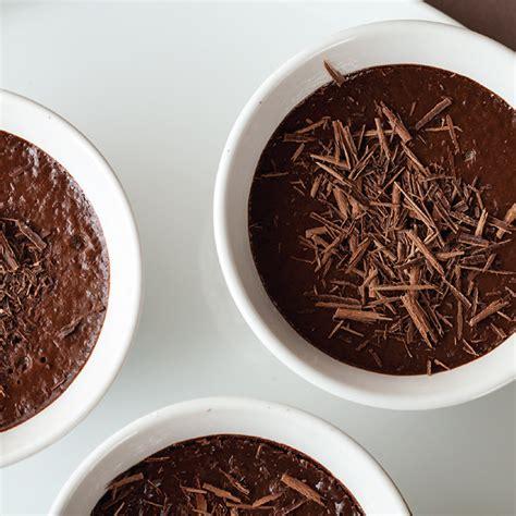 orange infused chocolate pots recipe living