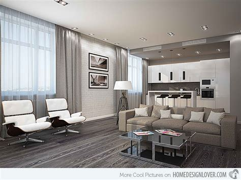 15 Modern White And Gray Living Room Ideas Kitchen Cabinets Style Looking For How To Add Glass Cabinet Doors Alternative Pics Of Kitchens With White Dry Can I Paint My At Menards