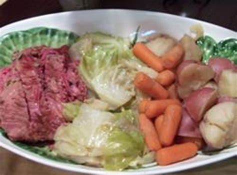 crock pot corned beef and cabbage recipe dishmaps