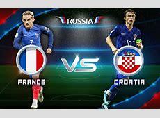 France VS Croatia Head To Head Football History Footballwood