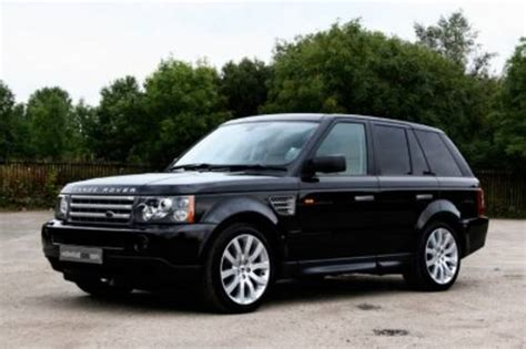 land rover range rover sport tdv6 hse photos and comments www picautos