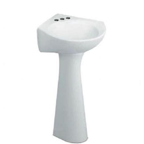 Home Depot Corner Pedestal Sink by American Standard Cornice Pedestal Combo Bathroom Sink In