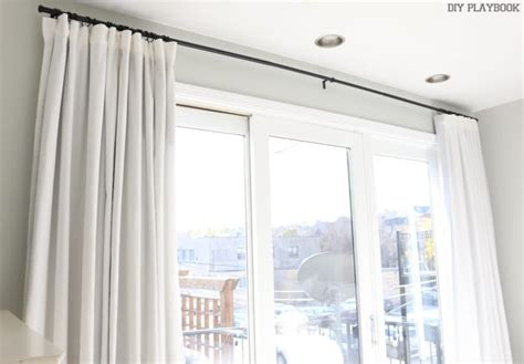 How To Make No Sew Black-out Curtains Traverse Curtain Rods With Pull Cord Ceiling Mounted For Bay Windows Blue And White Striped Curtains 96 Cream Pole Brackets Duck Egg Eyelet Uk 2 Rings Allen Bradley Light 440l Manual What Colour Go Red Sofa