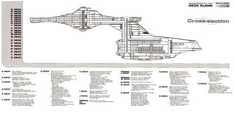 trek blueprints uss enterprise ncc 1701a deck plans