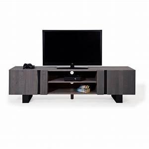 Tv Lowboard Grau : tv lowboard wildeiche massiv grau metall 200 edge ~ Markanthonyermac.com Haus und Dekorationen
