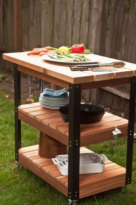 How To Make A Diy Rolling Grill Cart And Bbq Prep Station. Painted Wood Chest Of Drawers. French Desk Chair. Table Height Stools. Amish Coffee Table. Oit Help Desk Auburn. Under Cabinet Pull Out Drawers. Laptop Table Bed. Kitchen Island Table With Stools